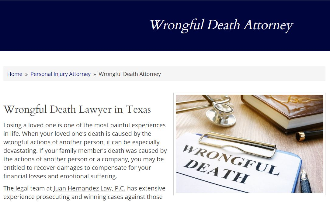 juan-law-wrongful-death-page